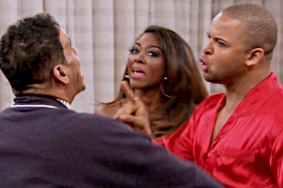 Cynthia Bailey's Sister Malorie Takes Kenya Moore's Side in the Pillow Talk Brawl!