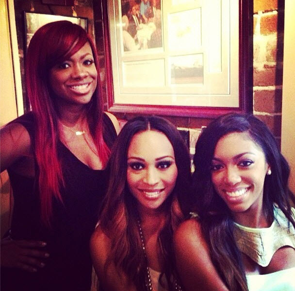 Cynthia Bailey Admits that Malorie Did Push Kandi Burruss at the Pillow Talk Party!