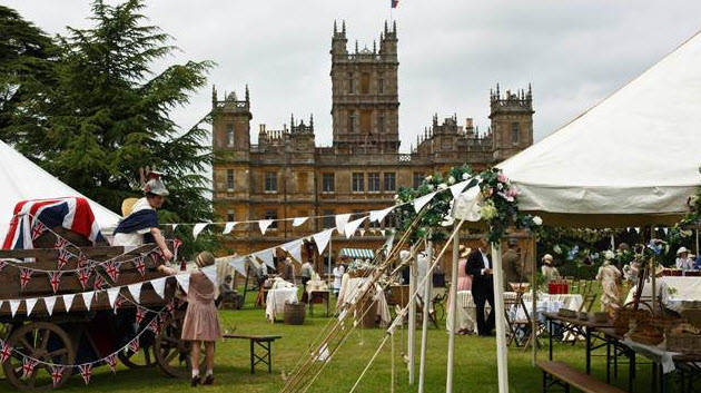 Downton Abbey Season 5 Filming Begins! New Character Shares Photo from Set