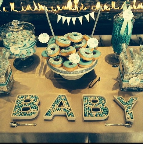 Pregnant Gwen Stefani's Third Baby Shower: Which Celeb Brought a Huge Diaper Cake?