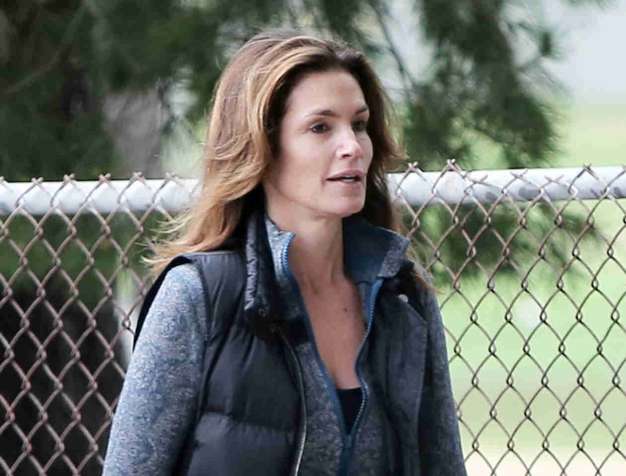 47-Year-Old Cindy Crawford Looks Flawless Without Makeup! (PHOTOS)