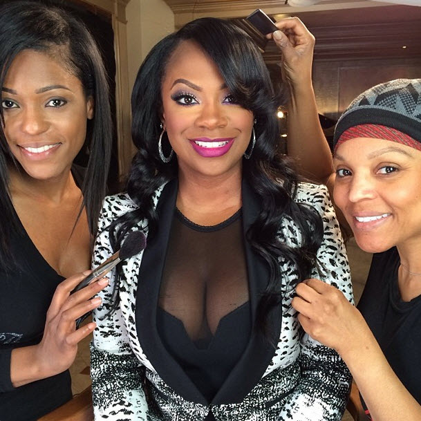 "Kandi Burruss Teases That It's ""Time For a Change"""