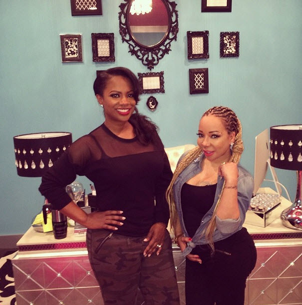 Kandi Burruss and Tiny Harris Hang Out — Are They Collaborating Again? (PHOTO)