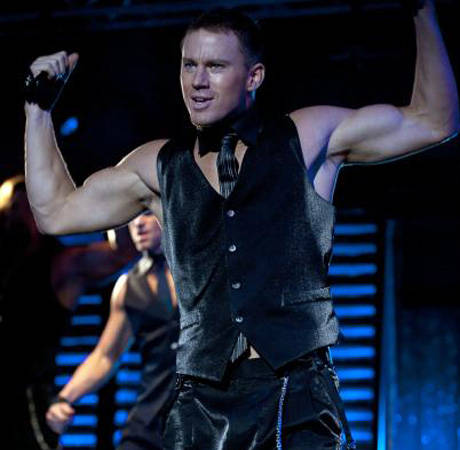 Magic Mike 2: Channing Tatum Starts Script, Stares at Matthew McConaughey Statue (PHOTO)