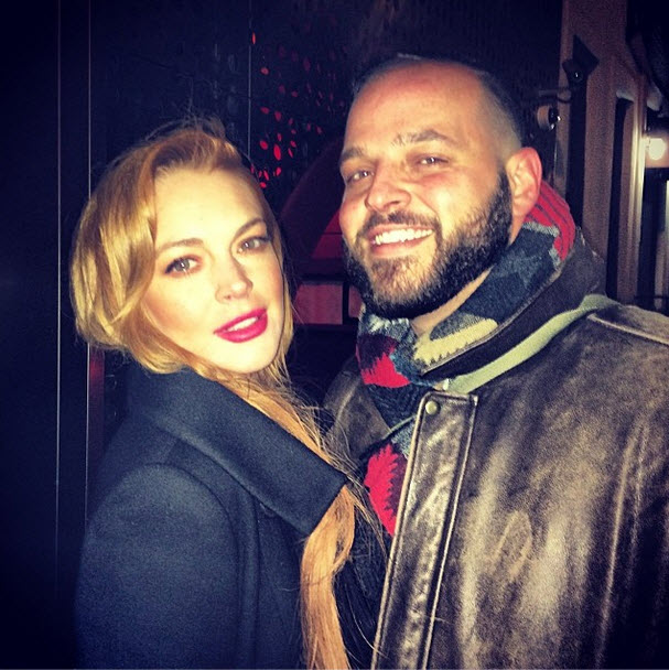 Mean Girls Reunion! Lindsay Lohan Hangs Out With Daniel Franzese in NYC (PHOTO)