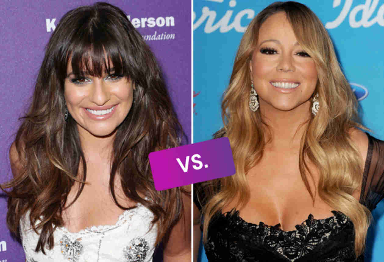 "Lea Michele vs. Mariah Carey: Which ""You're Mine"" Single Is Your New Favorite Song? (VIDEOS)"