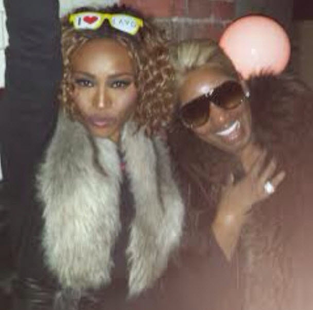 NeNe Leakes and Cynthia Bailey Get Wild at New York Fashion Week (PHOTO)