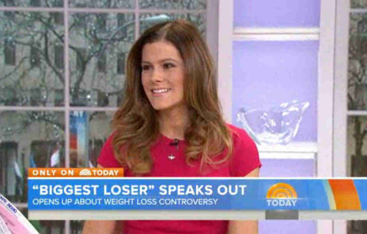 Biggest Loser Rachel Frederickson Looks Healthy While Responding to Controversy on TODAY (VIDEO)