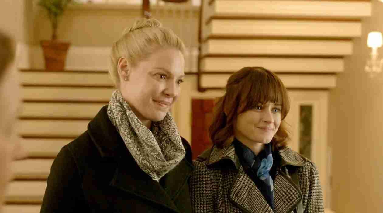 Katherine Heigl Kisses Alexis Bledel in New Film Jenny's Wedding (VIDEO)