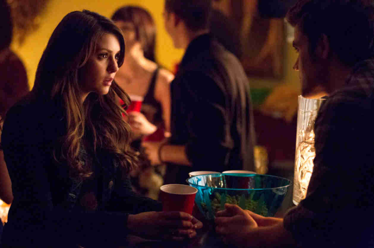 The Vampire Diaries Burning Question: Who Will Damon Try and Feed From First?