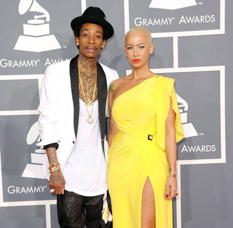 Does Amber Rose's Baby Look More Like Her or Wiz Khalifa?