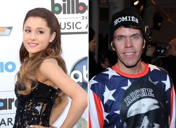 "Perez Hilton Blasts Ariana Grande as ""Disgusting"" on Twitter — But Why?"