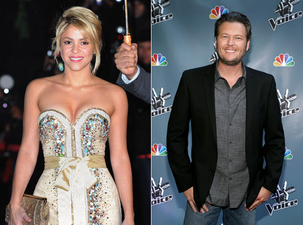 Shakira Hints at a Duet With Blake Shelton on Twitter!
