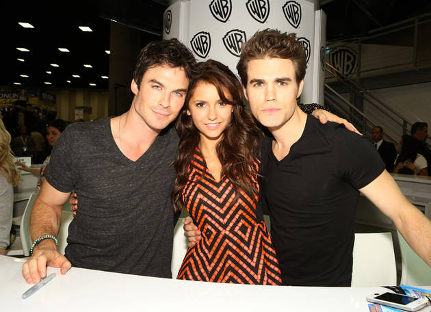 Nina Dobrev, Ian Somerhalder, and Paul Wesley Confirmed For 2014 PaleyFest