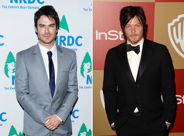 Ian Somerhalder, Norman Reedus Are Grand Marshals at 2014 Mardi Gras!