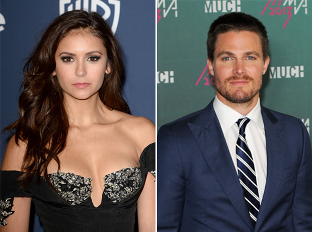 What Do Stephen Amell and Nina Dobrev Have in Common?