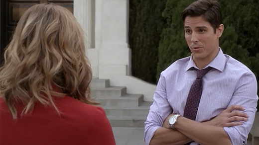 Pretty Little Liars Burning Question: Can Hanna Trust Detective Holbrook?