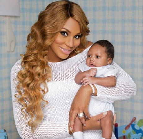 Tamar Braxton Posts Adorable Photo of Baby Logan Playing With Aunt Toni Braxton! (PHOTO)