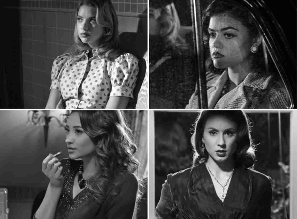 "Pretty Little Liars Fashion: Which Liar Rocks Film Noir Best in ""Shadow Play""?"