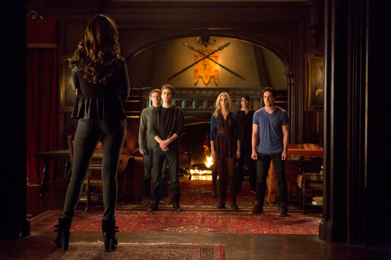 Vampire Diaries Extended Promo: Season 5, Episode 15 — Who Will Kill Katherine? (VIDEO)