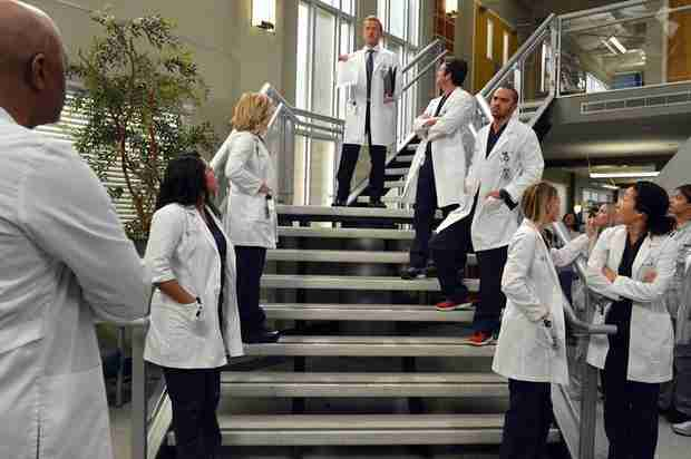 "Grey's Anatomy Recap: Season 10, Episode 14, ""You've Got to Hide Your Love Away"""
