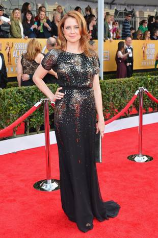 "Pregnant Jenna Fischer is ""Looking Forward To The Excitement"" of Having Two Children"
