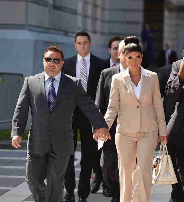 Teresa and Joe Giudice Hope Not to Go to Jail at the Same Time