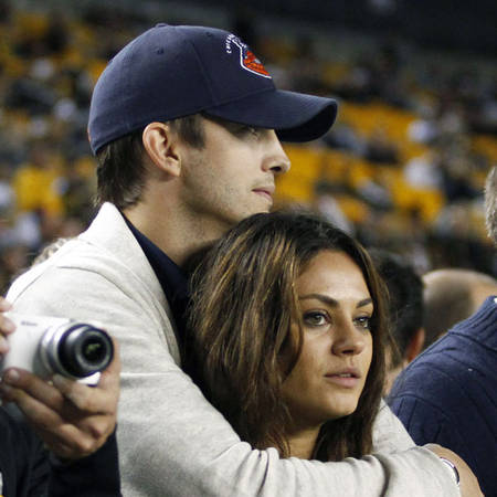 Mila Kunis, Ashton Kutcher Spotted for First Time Since Engagement — See Pic of Them Holding Hands!