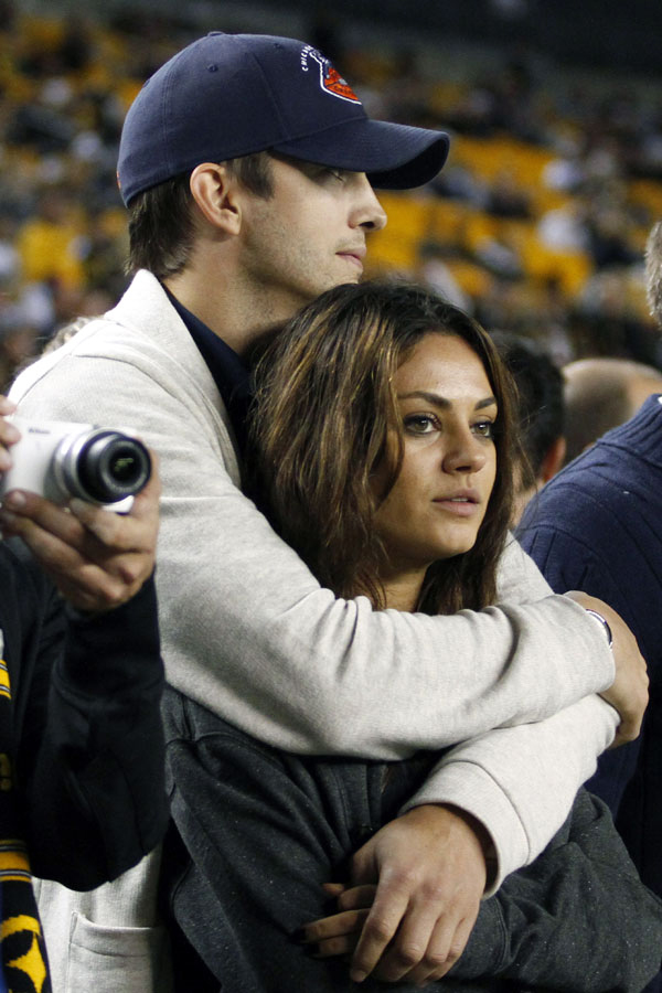 Mila Kunis and Ashton Kutcher Are Ready to Be Parents — Report