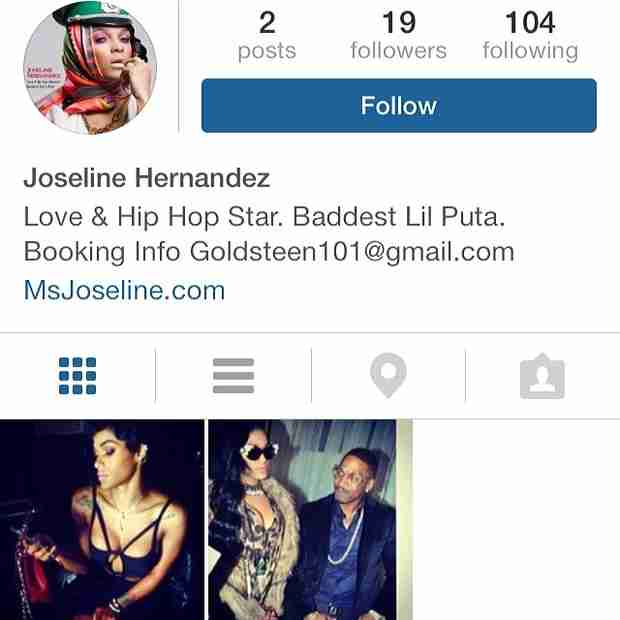 Joseline Hernandez Fights Back Against Fans Creating Fake Accounts (PHOTO)