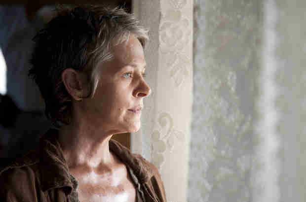 "The Walking Dead Season 4, Episode 14: Carol Finds Shelter, But What Does She See in ""The Grove""? (PHOTO)"