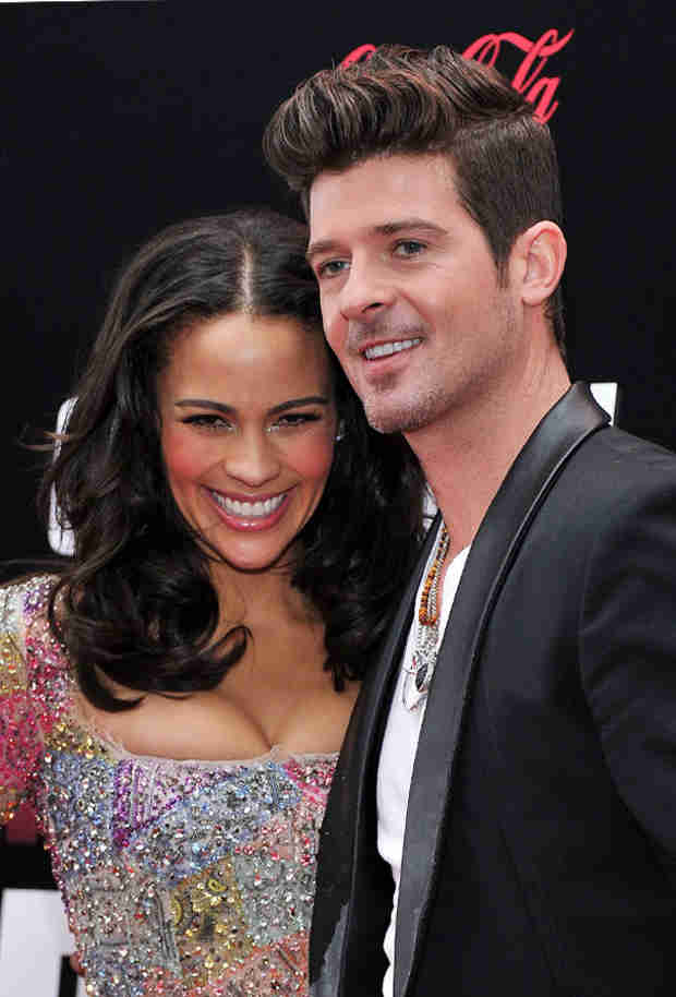Robin Thicke Talks About Love and Paula Patton in Concert —Again (VIDEO)