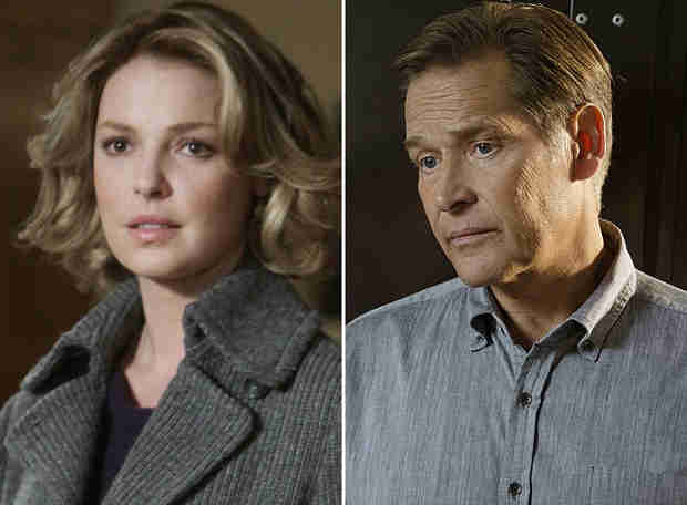 Grey's Anatomy: Katherine Heigl's NBC Pilot Co-Star Is James Remar, aka Izzie's Father-in-Law