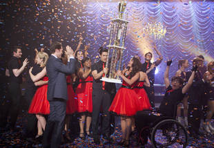 Glee Remembers Finn By Singing Classic Rock at Nationals — Right Choice? (VIDEO)