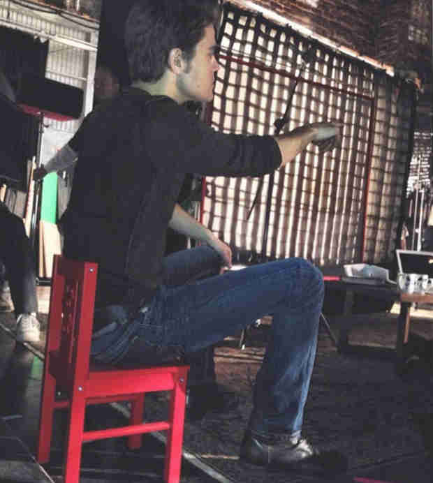 Paul Wesley Posts Candid Photo From the Director's Chair