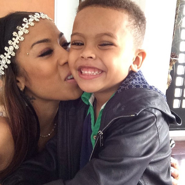 """Keyshia Cole Discusses Husband: """"I Will Never Keep Him From Our Son"""""""