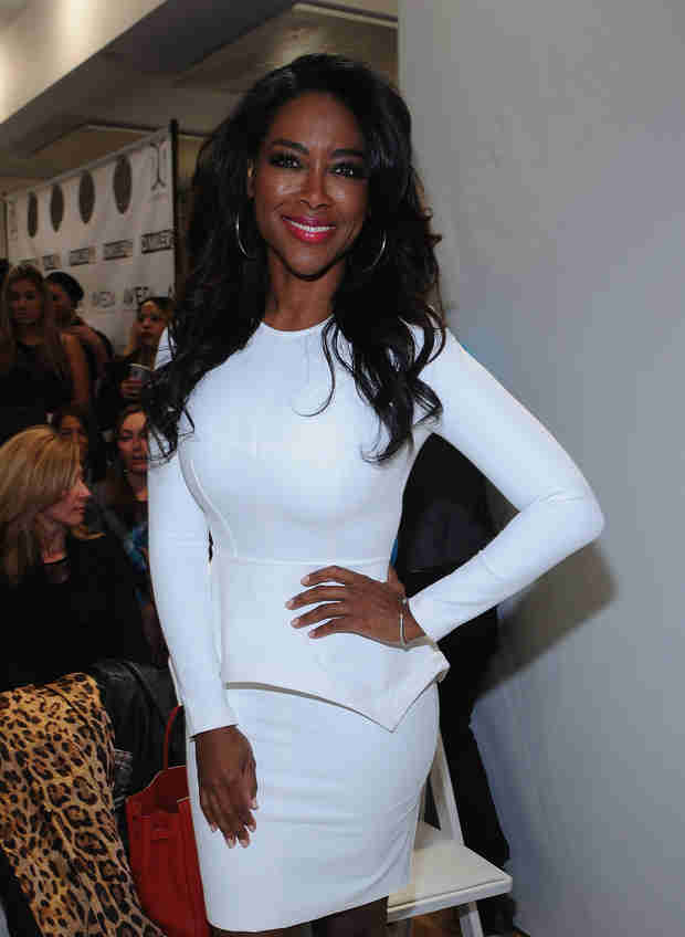 "Kenya Moore Admits She Did Have an ""Ulterior Motive"" for Approaching Apollo Nida"