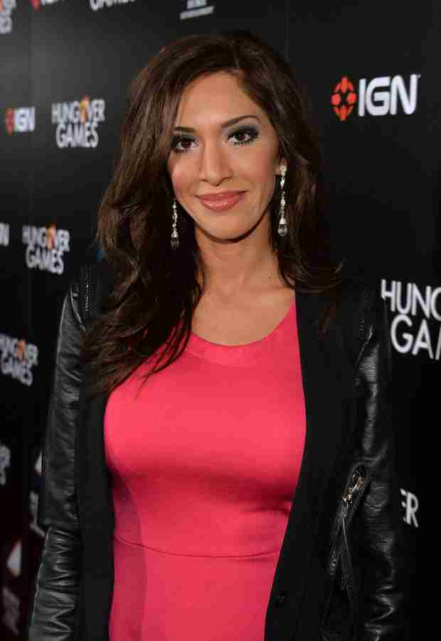 Farrah Abraham Spills on What She's Looking For in a Man (VIDEO)