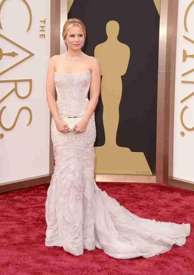 Kristen Bell Flaunts Post-Baby Body at Oscars 2014 (PHOTO)