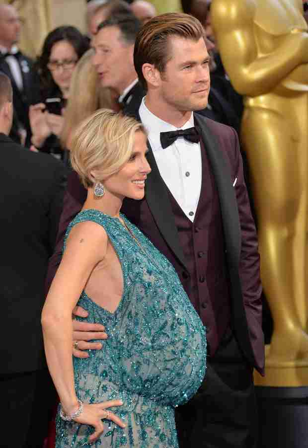 Elsa Pataky's Twin-Sized Baby Bump Turns Heads at the 2014 Oscars (PHOTOS)