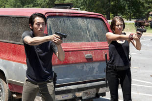 The Walking Dead Season 4: Lauren Cohan Loves Maggie and Glenn's Separate Storylines (VIDEO)