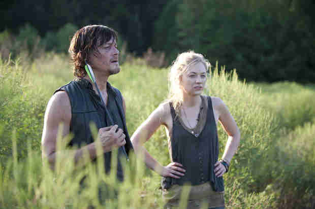 "The Walking Dead Season 4 Episode 12 Recap: Daryl and Beth's ""Still"" Waters Run Deep (and Drunk)"