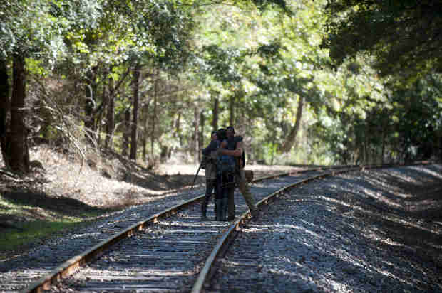 "The Walking Dead Season 4 Episode 15 Recap: Terminus! Gleggie Reunion! Rick Needs Saving After ""Us"""