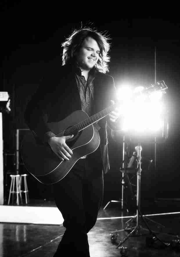 "Watch Caleb Johnson Sing ""The Edge of Glory"" in American Idol 2014 Top 10 — March 19, 2014"