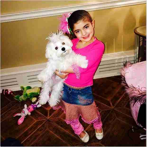 Can't Miss Adorable Pic of Audriana Giudice and Bella! (PHOTO)