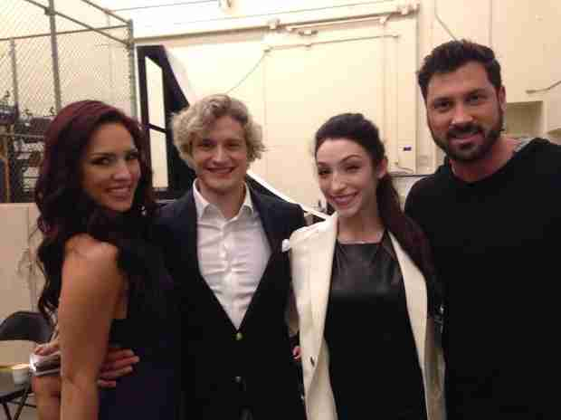"""Dancing With the Stars' Sharna Burgess on Charlie White and His """"Rivalry"""" With Meryl Davis — Exclusive!"""