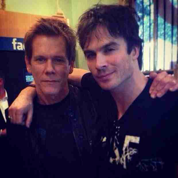 Ian Somerhalder Is One Degree of Separation From Kevin Bacon (PHOTO)
