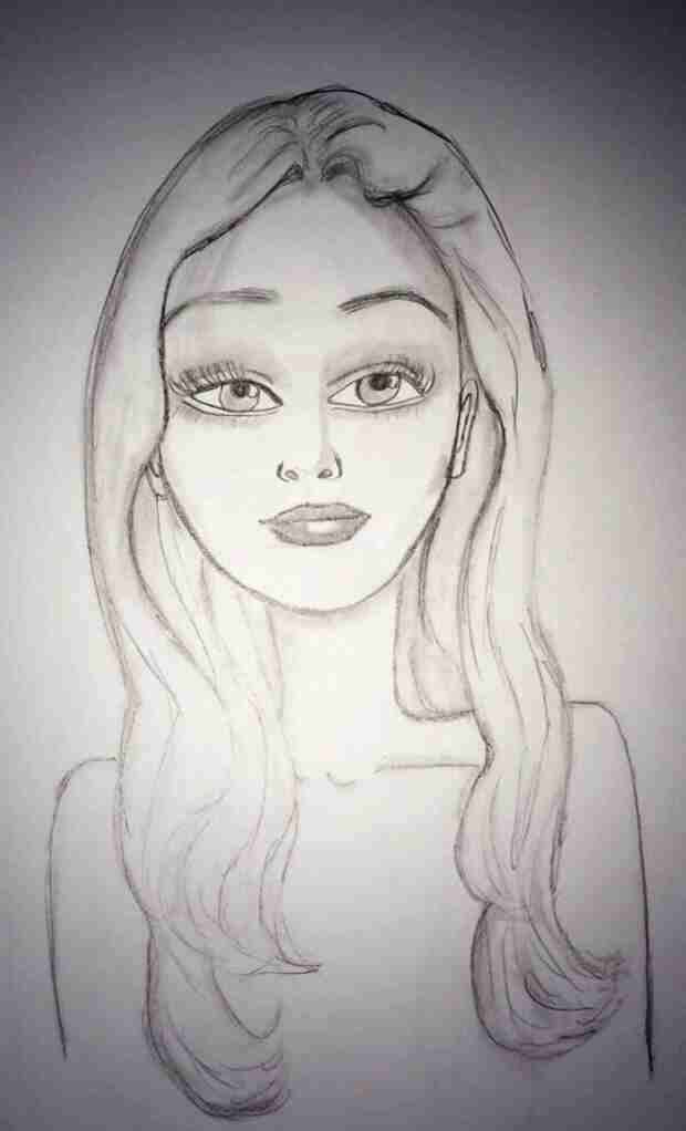 Amanda Bynes Denies Having Secret Twitter Account, Shares Hand-Drawn Self-Portrait (VIDEO)