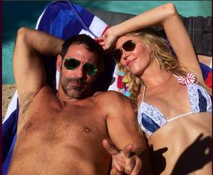 "Brandi Glanville Spotted With Her ""Ex-Husband"" Darin Harvey"