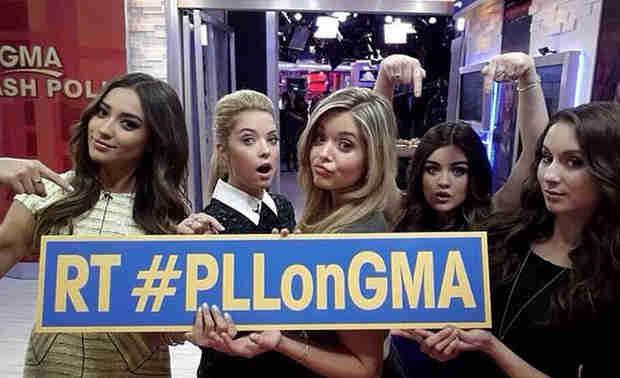 """Pretty Little Liars Talk Season 4 Finale on Good Morning America — """"We Leak a Lot of Secrets"""" (VIDEO)"""